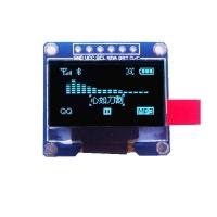 ماژول نمایشگر OLED آبی 0.96اینچ با رابط SPI سایز 128x64