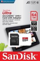 حافظه SanDisk Ultra 64GB -100 مدل SDSQUAR-064G-GN6IA