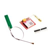 ماژول SIM800L میکرو سیمکارت به همراه آنتن PCB با کانکتور U.FL