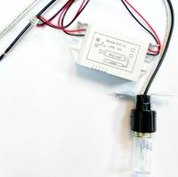 لامپ UV ولتاژ 10 ولت توان 3 وات همراه سرپیچ و ترانس 12 ولت