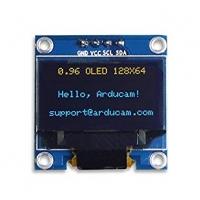 ماژول نمایشگر OLED زرد و آبی 0.96اینچ با رابط I2C سایز 128x64
