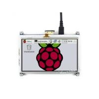 نمایشگر 4.3 اینچ رنگی با تاچ مقاومتی IPS 480x272 با ورودی  HDMI محصول Waveshare