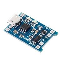 شارژر میکرو USB باتری های لیتیومی 5 ولت 1 آمپر به همراه محافظ