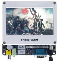 """Mini6410 بورد پردازنده ARM11 سامسونگ با نمایشگر """"4.3"""