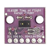 سنسور فاصله سنج  و VL6180 gesture